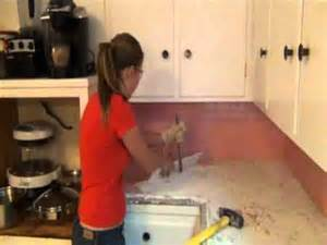 s step by step kitchen remodel step 1 demo of