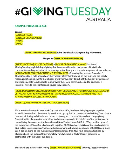 email press release template sle press release