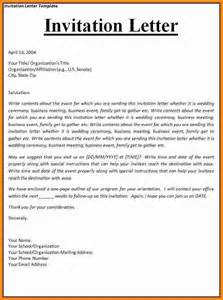 Business Letter Example For Invitation 10 invitation to tender letter ledger paper