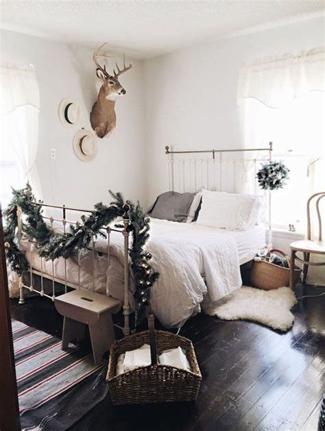 christmas bedroom ideas cozy christmas bedroom decorating ideas festival around