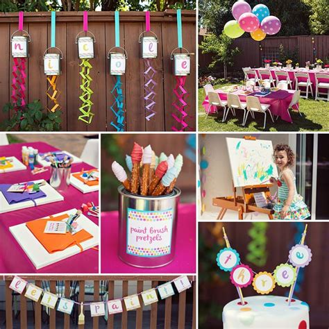 Polka Dot Rainbow Paint Themed 114 Best Images About Sweet Ideas For Birthday