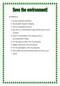 Essay On Our Environment For Class 6 by Save Our Environment By E2 2013 14