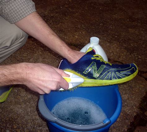running shoe cleaner cleaning your running clothes and gear the run commuter