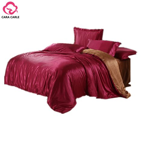 bed sheets sets cara carle 4pcs bedding set silk cotton king queen twin