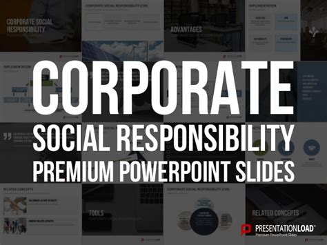 corporate social responsibility policy template corporate social responsibility ppt slide template