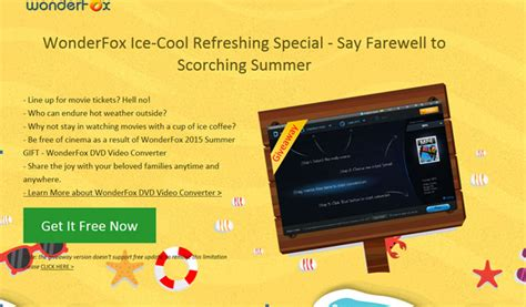 2015 summer cooling tip wonderfox dvd video converter giveaway gift - Video Converter Giveaway