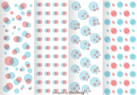 dot pattern system blue and pink polka dot pattern download free vector art