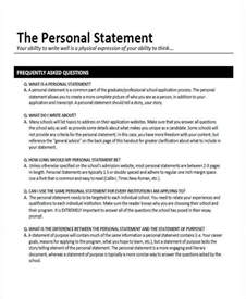 8 personal statement examples samples