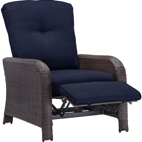 luxury recliners strathmere luxury recliner in navy blue strathrecnvy