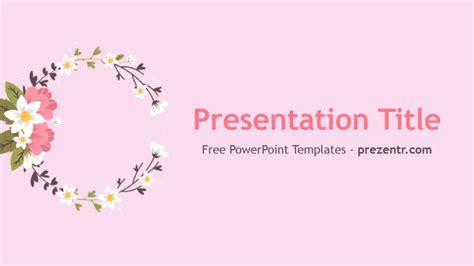free flowers powerpoint template prezentr powerpoint