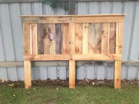 pallet king size bed with headboard