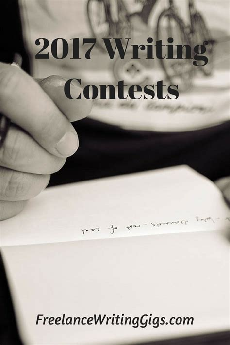 Writing Contests Win Money - writing contests you should consider entering writing contests 2017
