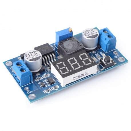 S R Step Powersupply Lm2596 lm2596 dc dc buck converter adjustable step power supply module with digital voltmeter display