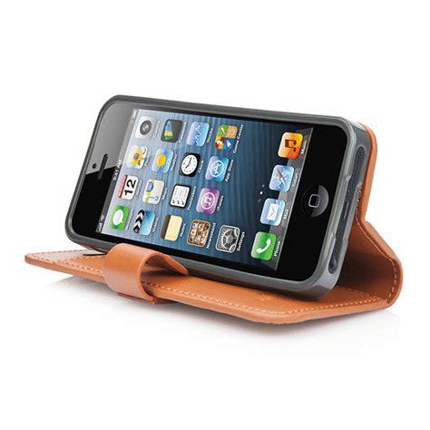 Capdase Polka Iphone 5 iphonese 5s 5 ケース folder sider polka brown grey