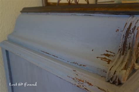 dried lavender milk paint chest makeover reveal lost found