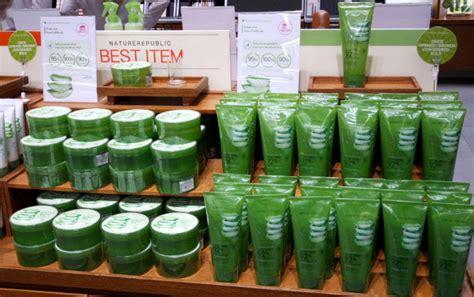 Harga Nature Republic Di Indonesia 8 rekomendasi produk skin care aloe vera yang murah selain
