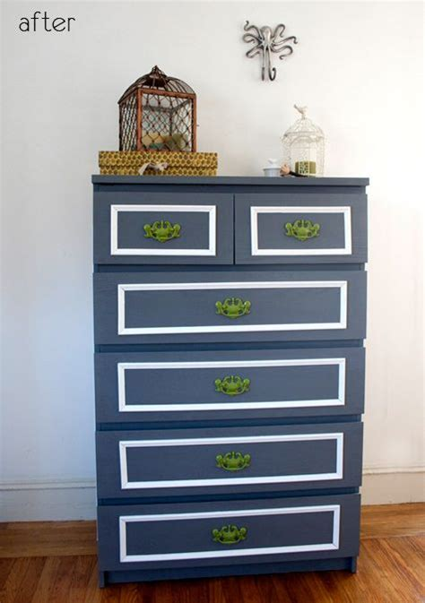 painting malm dresser before after ikea malm dresser upgrade dresser makeovers the and diy and crafts