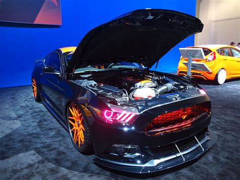 tuned mustang 14 tuned ford mustangs at sema autobytel com