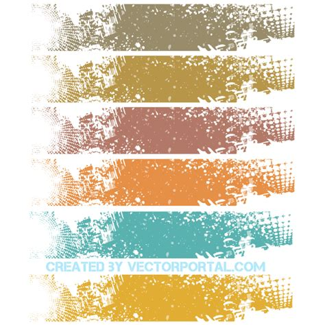 grunge design elements vector free vector grunge banner background design 123freevectors