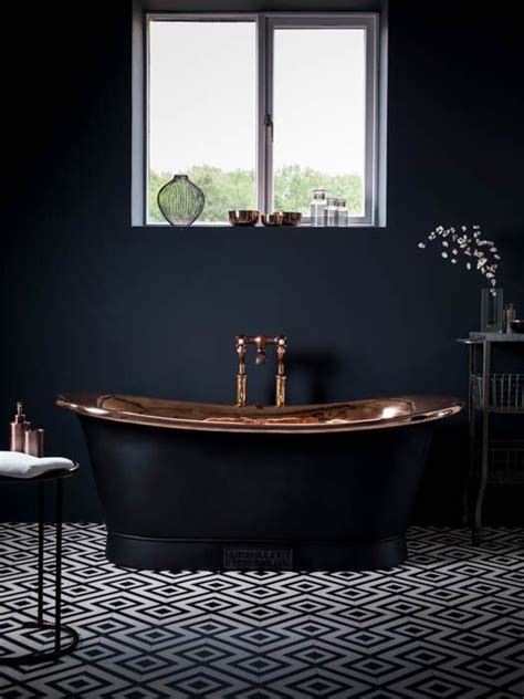 dark bathroom best 25 black bathrooms ideas on pinterest concrete