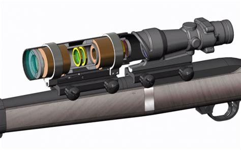 rifle scopes adaptive lens holds promise