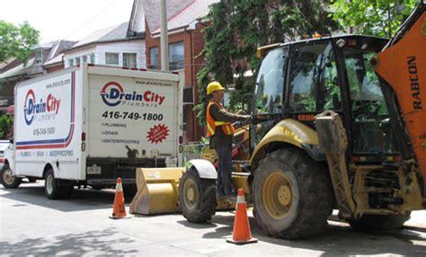 Plumbing Contractors Toronto by Toronto Plumbing Contractors 416 749 1800 Drain City
