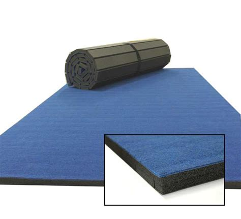 practice cheer mats and gymnastics mats with carpet top