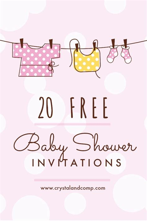 Baby Shower Invitations Free by Printable Baby Shower Invitations
