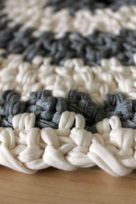 zpagetti anleitung teppich 91 besten textilgarn crochet bilder auf
