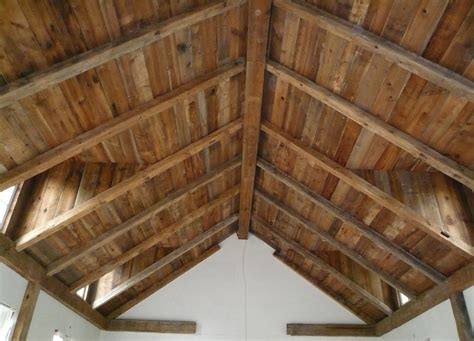Barn Board Ceiling historic lumber