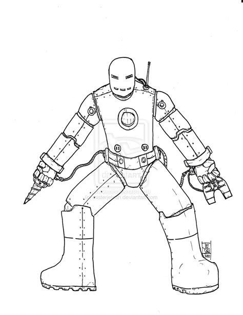 iron man mark 5 coloring pages iron man mark 1 coloring pages sketch coloring page