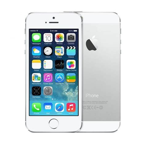apple iphone 5s 16gb silver unlocked refurbished mobile