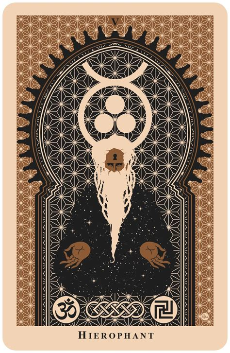 deck of cards tattoo hierophant tarot card beautiful tarot