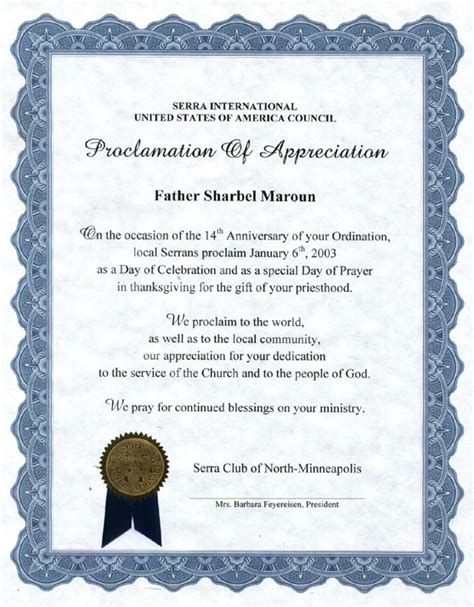 religious certificate of appreciation template religious wording for appreciation certificate just b cause