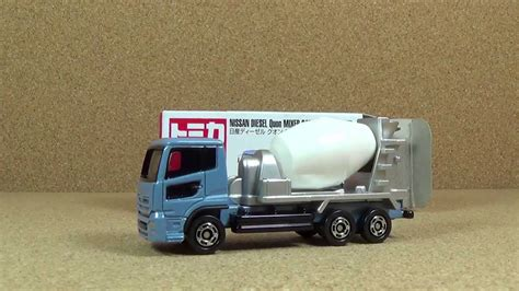 Nissan Diesel Quon Mixer Car By Tomica tomica 053 nissan diesel quon mixer car die cast car