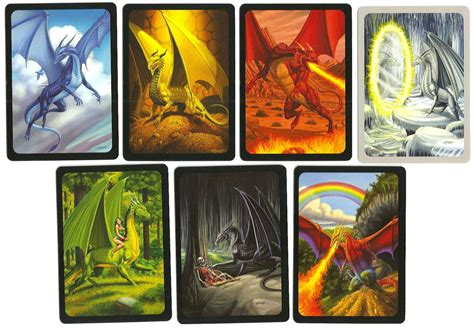 colors of dragons review seven dragons from looney labs boardgames in