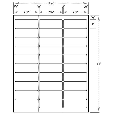 Labels By The Sheet Templates search results for avery labels 30 per sheet template free calendar 2015