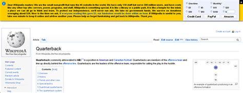 advertising layout wikipedia my response to wikipedia for begging money saving tips