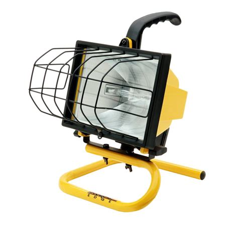 portable halogen work light stand southwire 500 watt portable halogen work light l20sw the