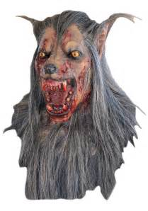 Wolf Mask Brown Wolf Mask