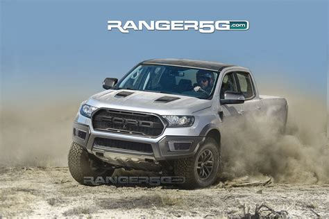 awesome ford ranger raptor renderings show off kickass