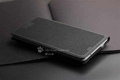 Casing Dots by Dot View For Samsung Galaxy Note 3 Black