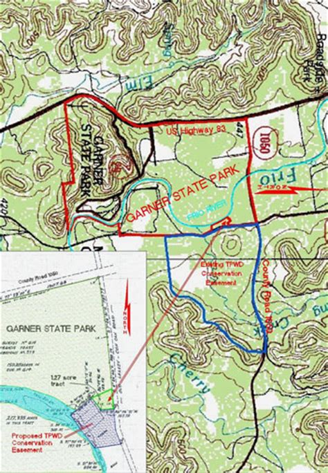 garner state park map tpwd may 24 25 2006 commission meeting agenda item 17