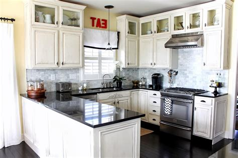 images of kitchens with white cabinets black and white kitchens and their elements