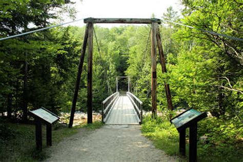 lincoln woods visitor center weeks act legacy trail 187 lincoln woods suspension bridge