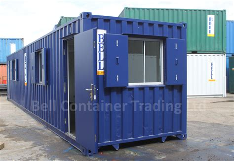 Modified Storage Container by Shipping Container Conversions Modifications