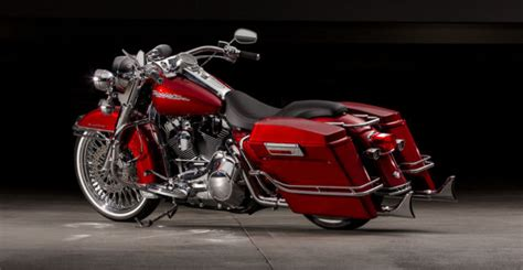 complete candy red cholo style road king  completed