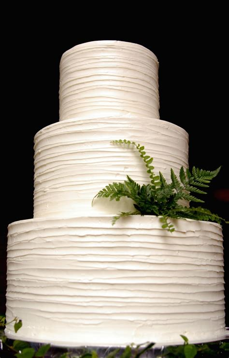 Simple But 3 Tier Wedding Cake For And These Peas Are Hollow Buttercream