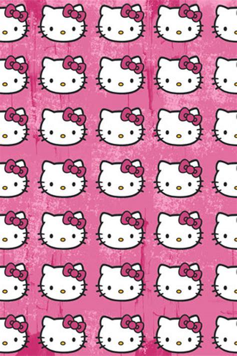 pink kitty pattern hello kitty pattern iphone wallpaper hd