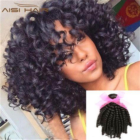 black hair tight curls brazilian tight curly human hair short curly weave hair